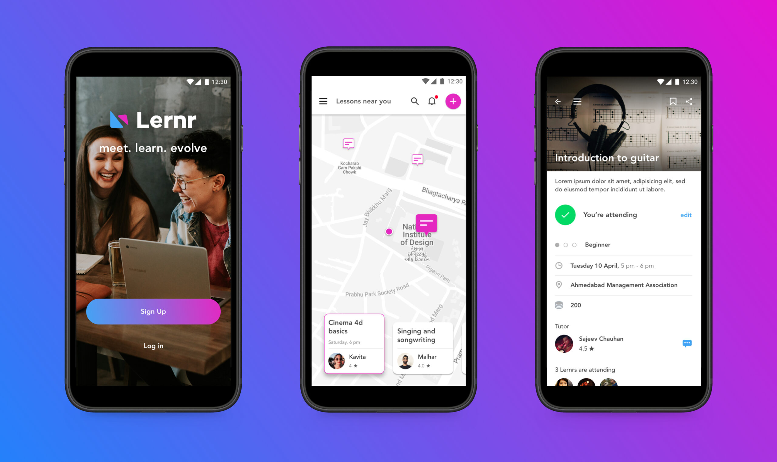 Lernr-App-Overview